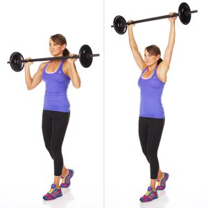 Standing-Shoulder-Press